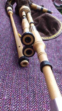 holly borderpipes with black buffalo horn (2).JPG