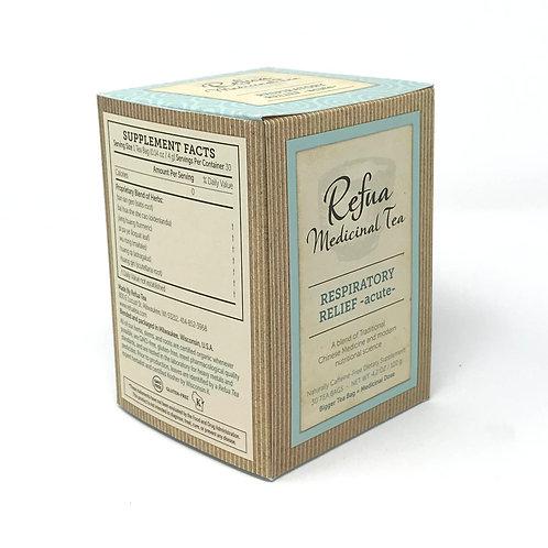 RESPIRATORY RELIEF – acute - 30 tea bags