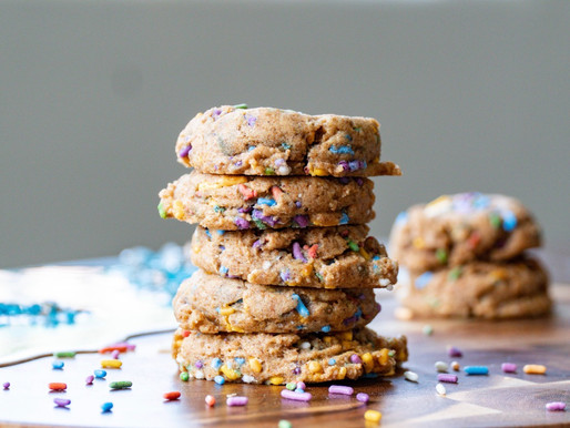 Healthy Confetti Cookies