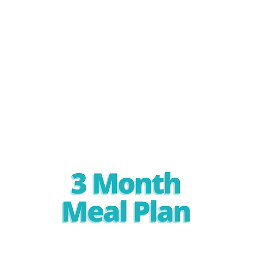 3 Month Meal Plan
