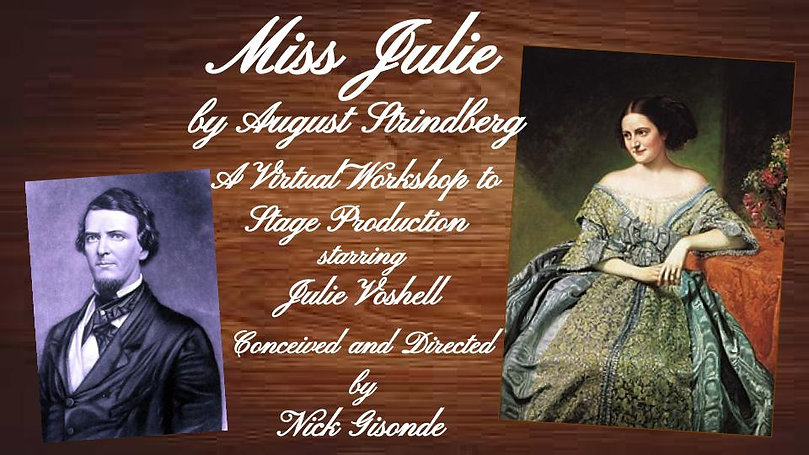 Miss Julie Concept and Web Page_Title Pa