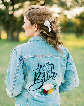 Here comes the bride denim jacket.jpg
