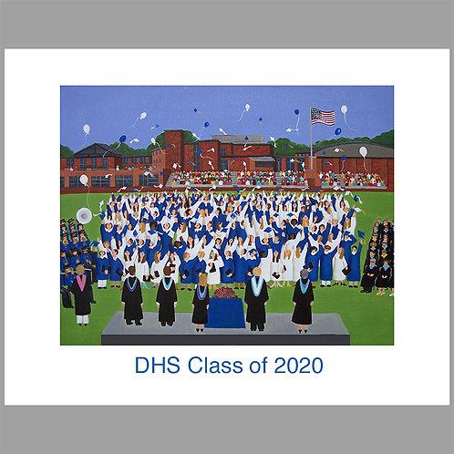 DHS Graduation 2020 print