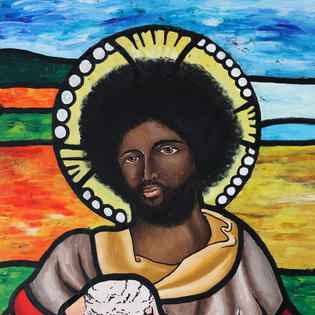 Jesus and the Lamb by Chelsi Chevannes