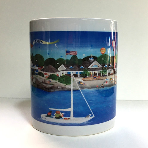 Weed beach Mug