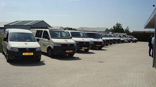 Het wagenpark van Vroling