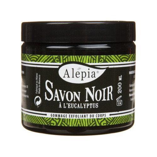 SAVON NOIR SUPRÊME À L'EUCALYPTUS ALEPIA