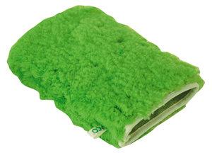 Gant microfibre de nettoyage vert