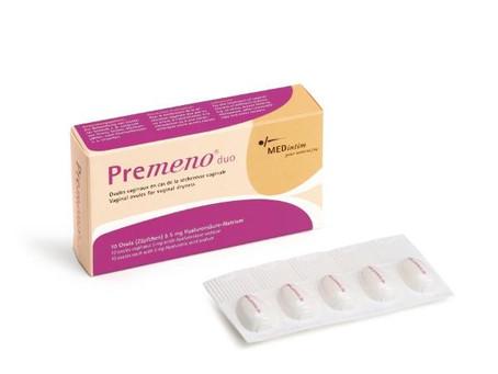 PREMENO DUO de MEDINTIM : sècheresse vaginale