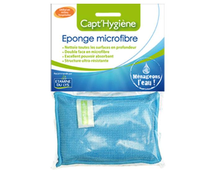 Eponge microfibre Etamine du Lys capt' hygiène