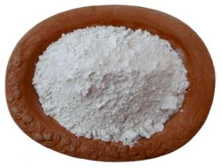 Argile blanche en poudre surfine