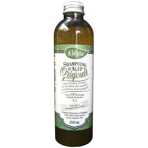 Shampoing d'Alep bio original 15% de laurier ALEPIA