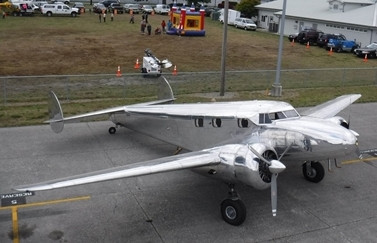 Stratus antique aircraft honored at KAWO