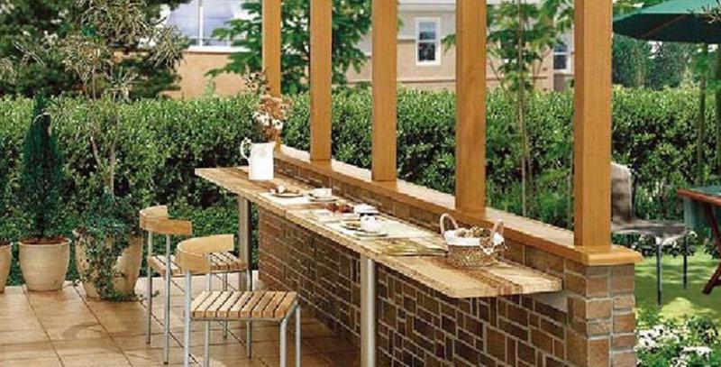 LIXIL ココマ カウンターテーブル(腰壁取付仕様)