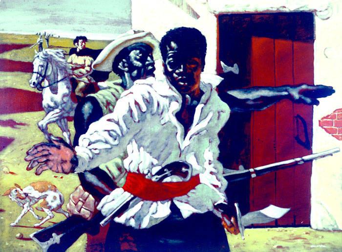 BHM2021- Hendrick Arnold: Leader and Spy during Texas Revolution