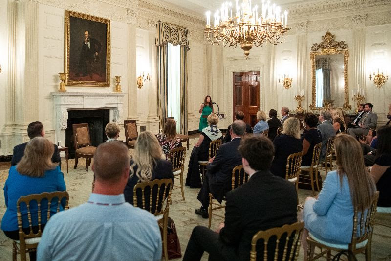 Second Lady Karen Pence delivers remarks at White House summit on Safely Reopening America's Schools | July 7, 2020