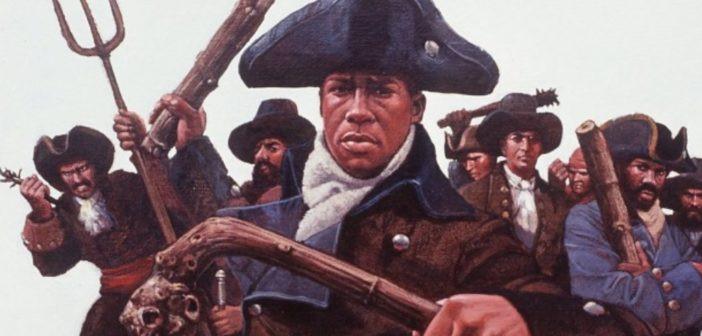 BLACK HISTORY 2021 - Crispus Attucks an American Revolutionary War leader and hero