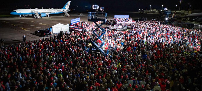 Trump thanks Tillman during Great American Comeback gathering in Mosinee