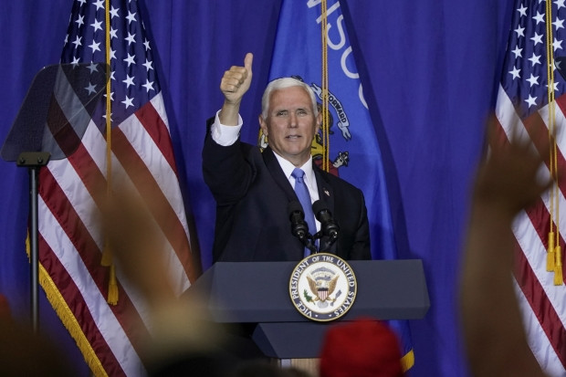 MLK Republicans join VP Pence at campaign stop in WI