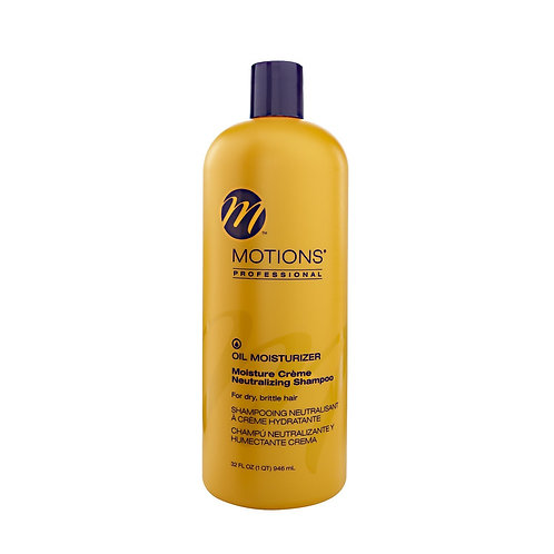 Motions Oil Moisturizer Creme Neutralizing Shampoo, 12 oz