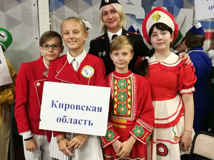 Юные инспекторы движения из Кирова стали одними из лучших в России!