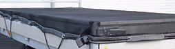 gaaskleed zwart 3m x 1,8m