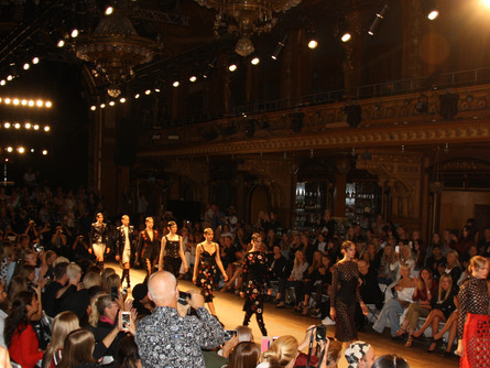 Catwalk på Berns, Fashion Week Stockholm