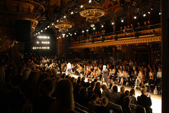 Catwak från Fashion Week Stockholm. Berns Salonger.