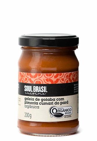Geléia de Goiaba com Pimenta Cumari do Pará Soul Brasil