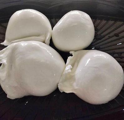 Mini Mozzarella de Búfala - Fazenda Santa Helena - porção 6 uni