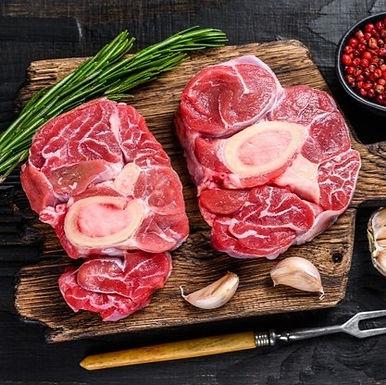 Ossobuco c/osso bovino congelado orgânico- Bio Carnes - peça aprox 1kg
