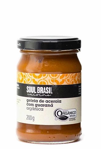 Geleia de Acerola com Guaraná Soul Brasil