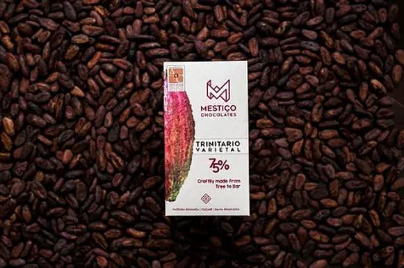 Chocolate Trinitário 75% -  Mestiço
