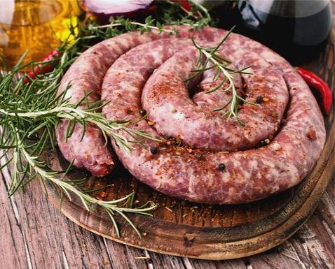 Linguiça Bovina Organica- Bio Carnes - peça vácuo