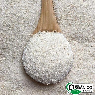 Farinha de Mandioca Branca Orgânica Marfil 500g