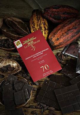 Chocolate Amargo 70% Rio Acará Luisa Abram 80g