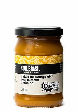 Geléia de Manga Ubá com Cumaru Soul Brasil 200g