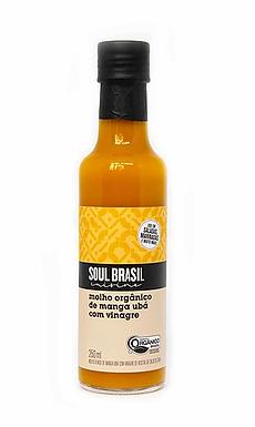 Molho de Manga Ubá com Vinagre Orgânico Soul Brasil 250ml
