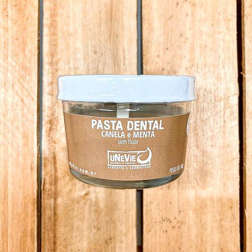 Pasta Dental uNeVie Canela e Menta