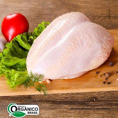 Peito de Frango Orgânico com Osso Sítio Anahata 500gr