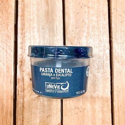 Pasta Dental uNeVie Laranja e Eucalipto