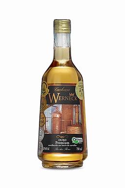 Cachaça Werneck Ouro Premium Orgânica 750ml - Un