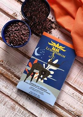 Chocolate Branco com Crocante de Castanha Luisa Abram 80g