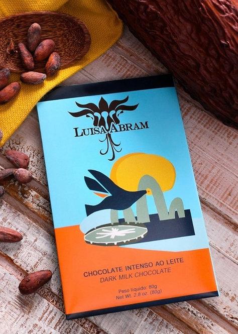 Chocolate Intenso ao Leite 52% Luisa Abram 80g