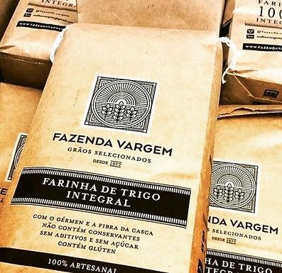 Farinha de Trigo Integral - Fazenda da Vargem - 1kg