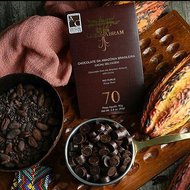 Chocolate Rio Púrus 70%  Luisa Abram 80g