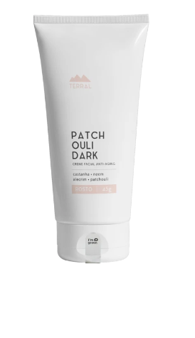Creme Facial Patchouli Dark Terral 45g