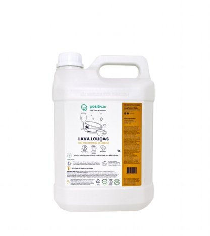 Lava Louças com óleo essencial de  laranja Positiva 5L