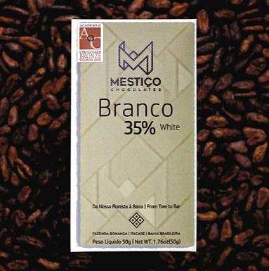Chocolate Branco 35% Mestiço