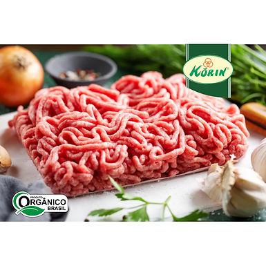 Carne moída de Peito Bovino Orgânico Korin aprox. 1kg
